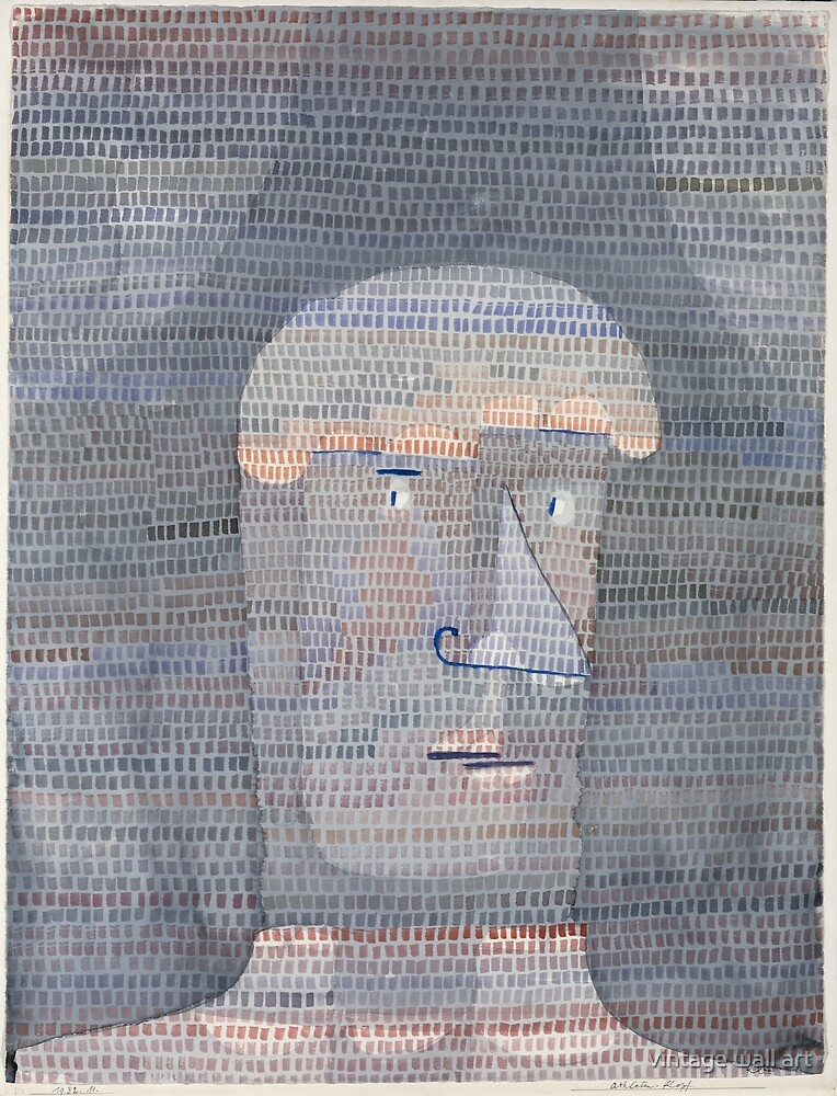 Athlete's Head by Paul Klee, 1932 by fineearth