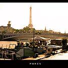 Eiffel Paris by lukelorimer