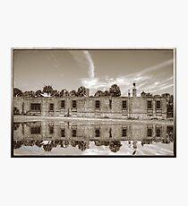 Sepia of Atalaya Castle Photographic Print