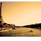 Paris, Eiffel Tower by lukelorimer