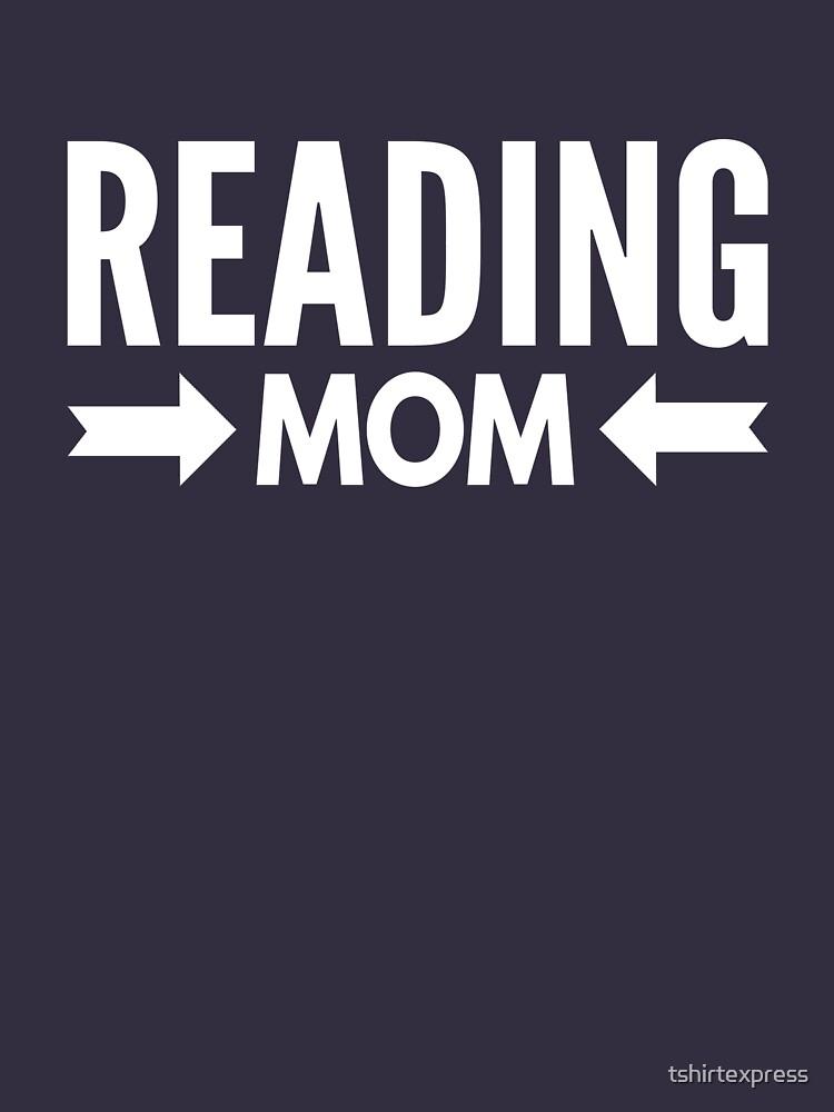 Reading Mom by tshirtexpress