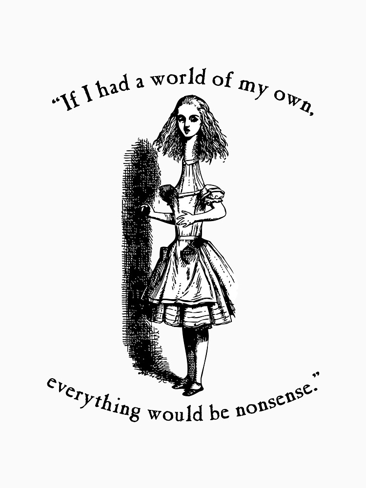 Alice in Wonderland Nonsense by jeastphoto