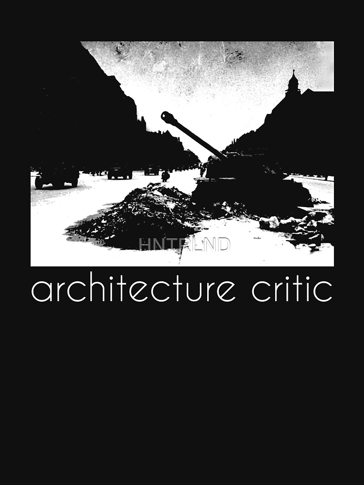 architecture critic by HNTRLND