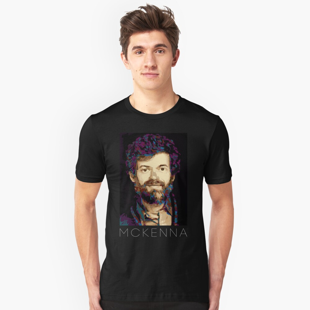 Terence Mckenna Unisex T-Shirt Front