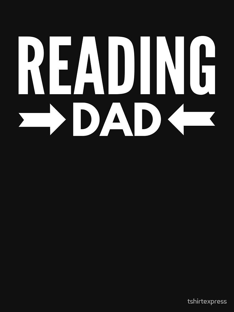 Reading Dad by tshirtexpress