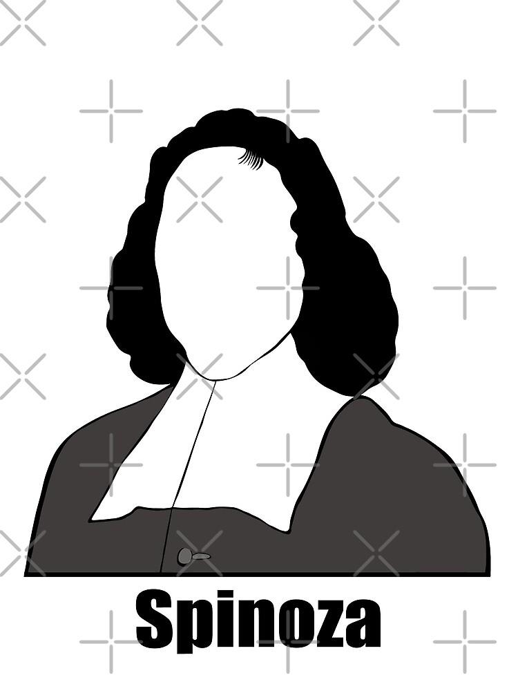 Baruch Spinoza - Spinoza - Spinozist by RandomElement