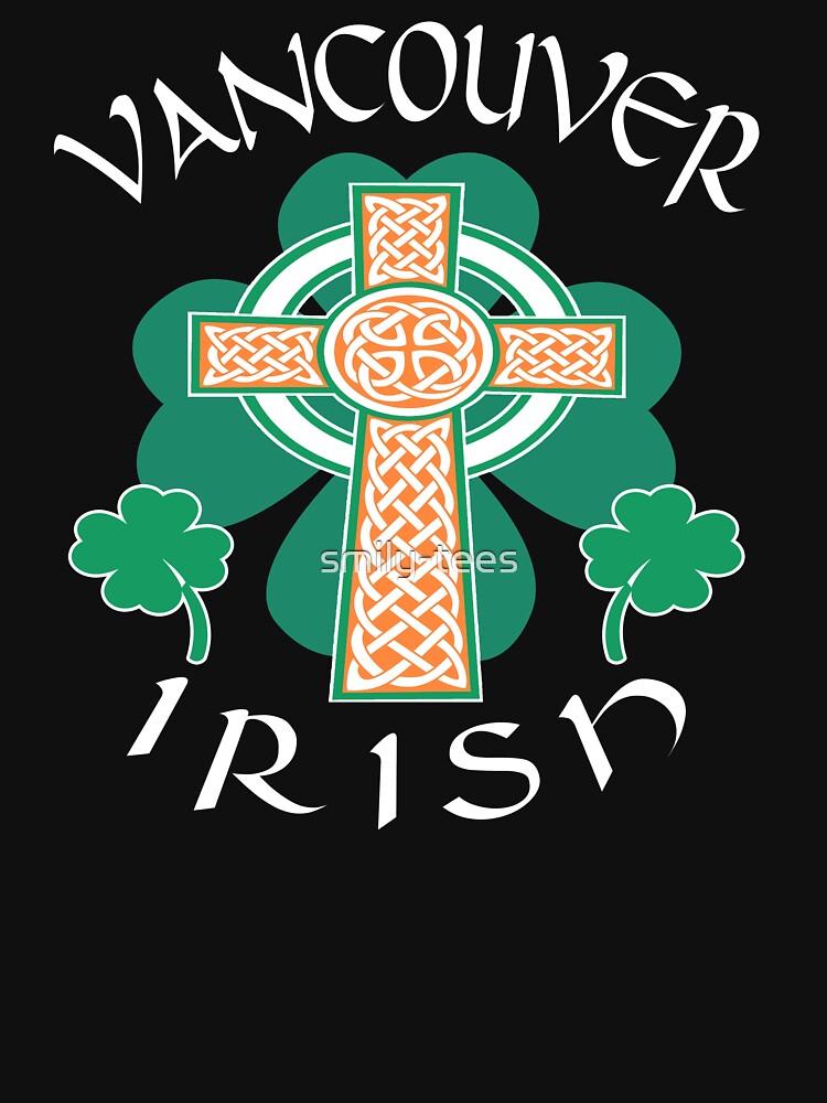Vancouver Canadian Irish Pride Celtic Cross Saint Patrick by smily-tees