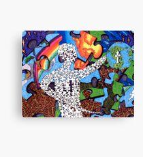 """""""Puzzle Man"""" Canvas Print"""