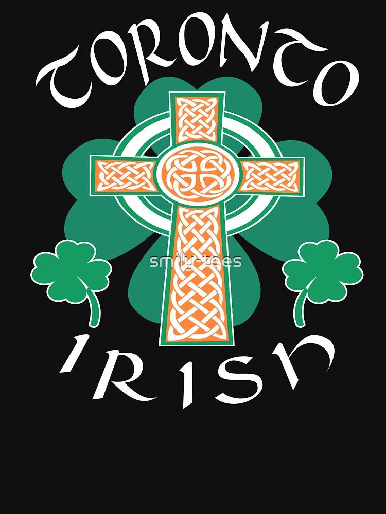 Toronto Canadian Irish Pride Celtic Cross Saint Patrick by smily-tees