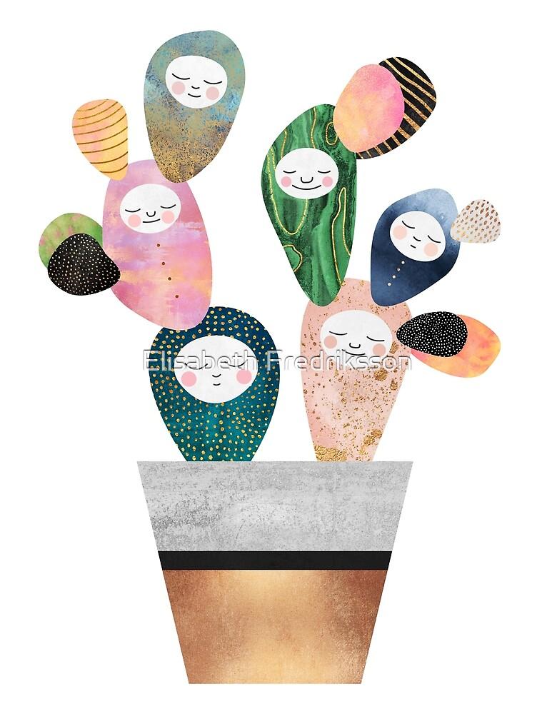 Sleepy Cactus by Elisabeth Fredriksson