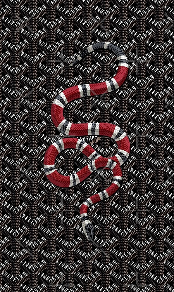 snake white red by hkjkkty