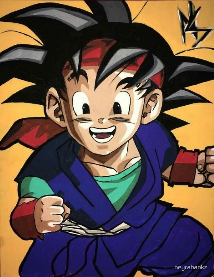 'Goku JR.' by neyrabankz