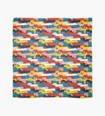COLORED CUTE DOGS PATTERN 2 Scarf