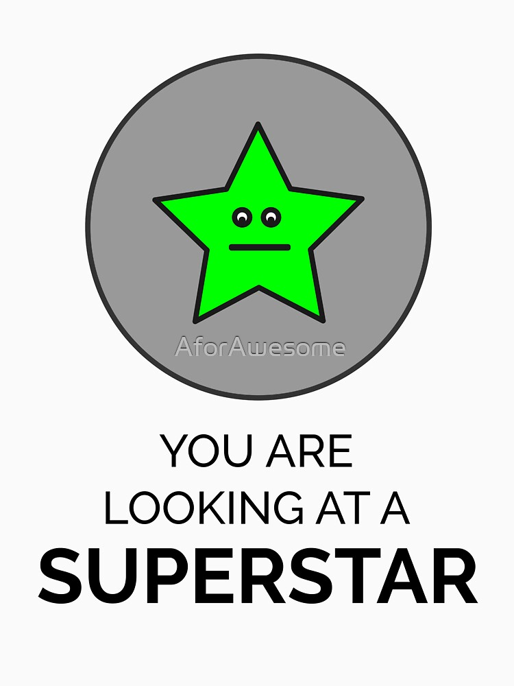 You are looking at a SUPERSTAR by AforAwesome