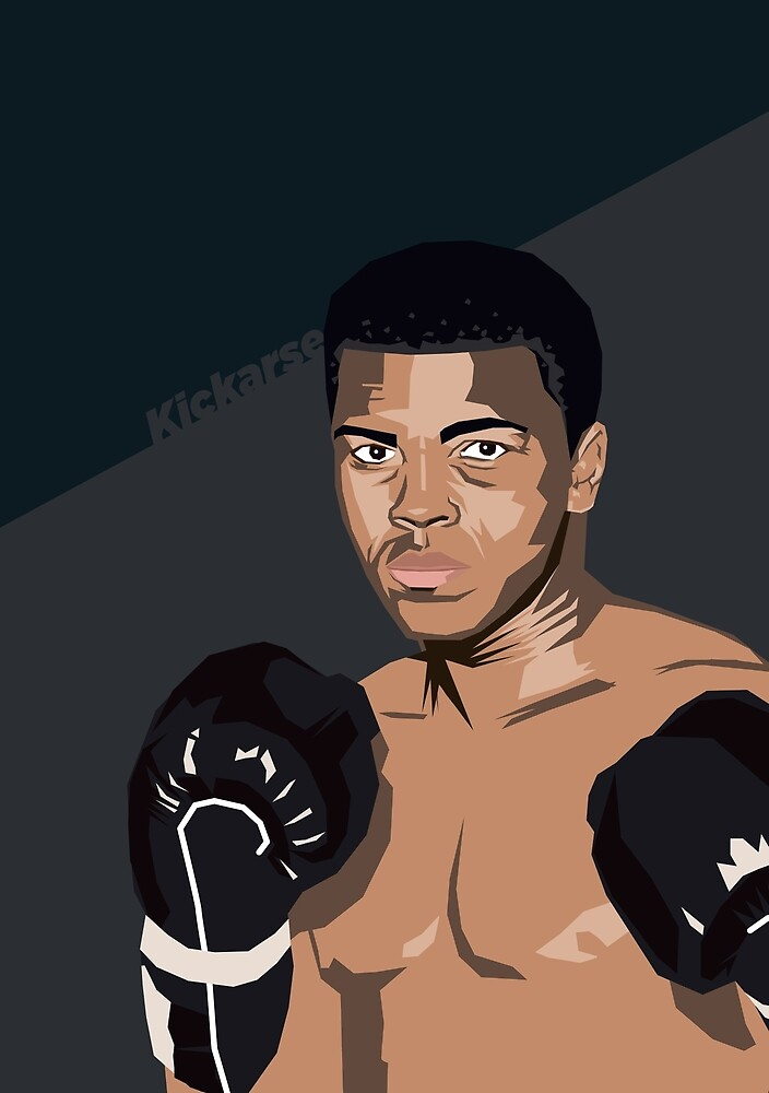 Boxing Greats - Muhammad Ali by kickarse