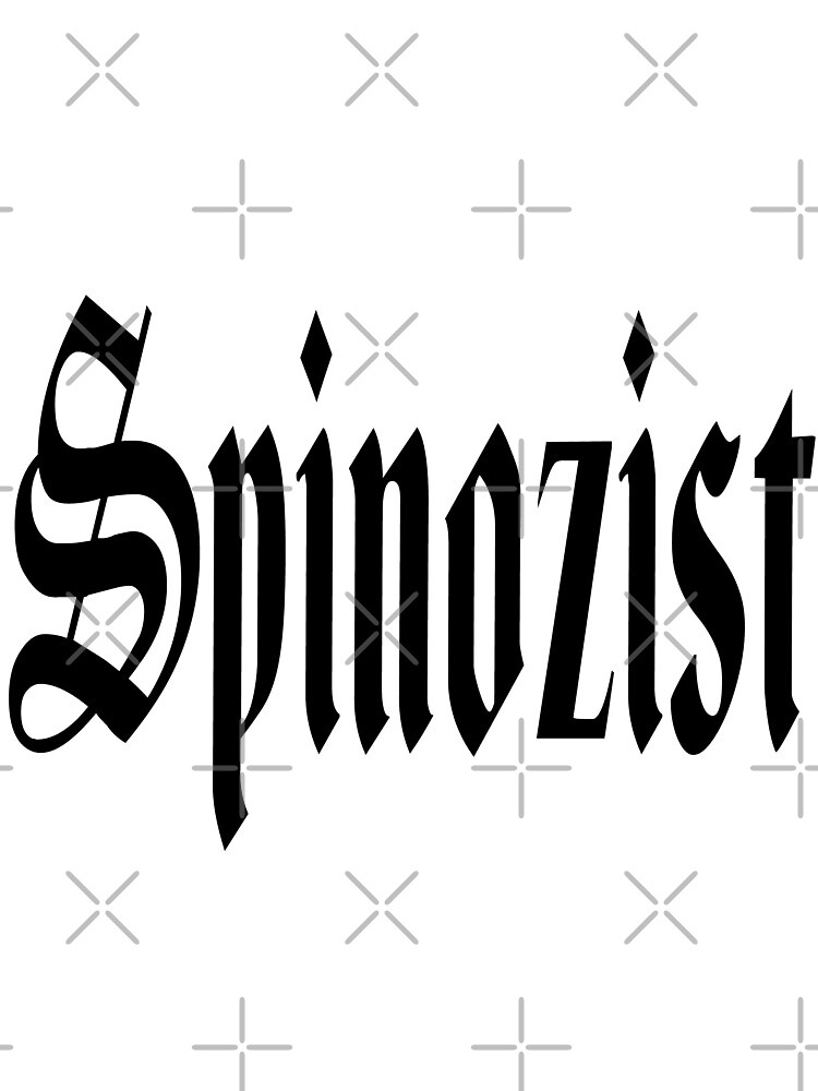 Spinozist - Baruch Spinoza -Spinoza by RandomElement