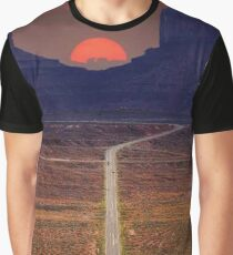 The road is long Graphic T-Shirt