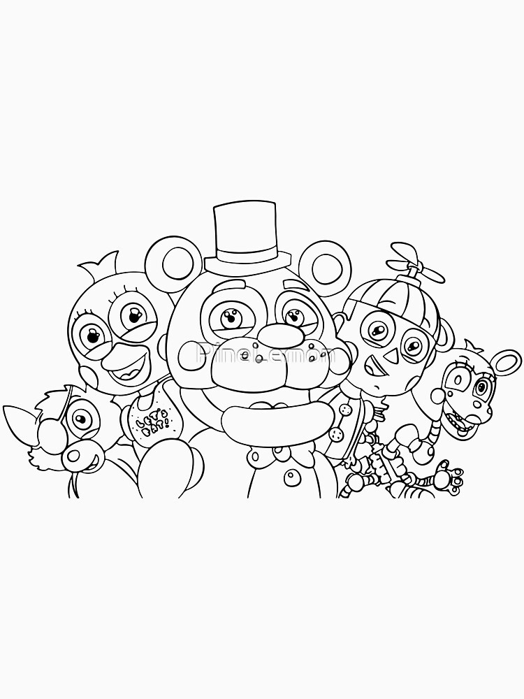 Fnaf, five nights at freddys by PineLemon