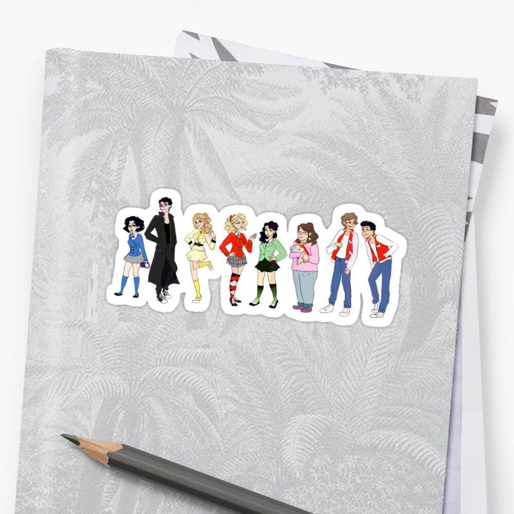 Heather's! Sticker full set by Pink Fevs