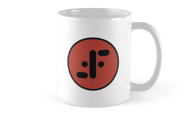 """The Visitors Symbol from the Television Show """"V"""" Mugs by Jamie Cross"""