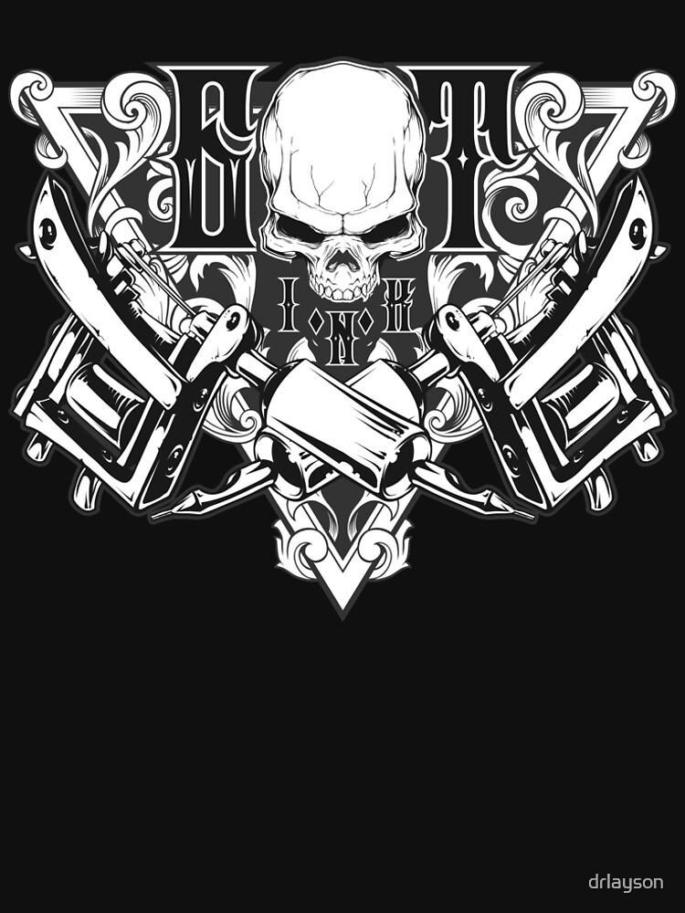 Awesome Got Ink - Tattoo Design, Tattoo, Tattoo Artist, Tattoo Shop, Gift, Custom Tattoo Design, Custom T Shirt by drlayson