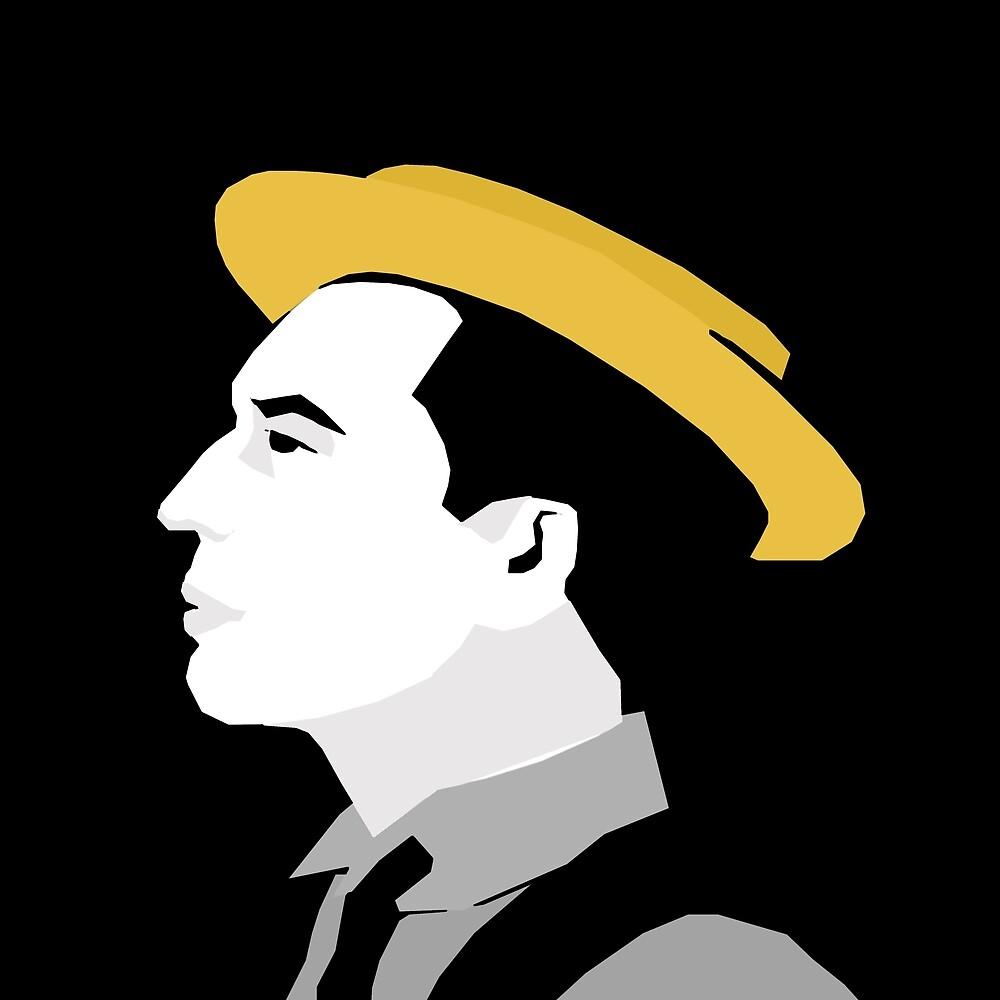Buster Keaton by TheKingLobotomy