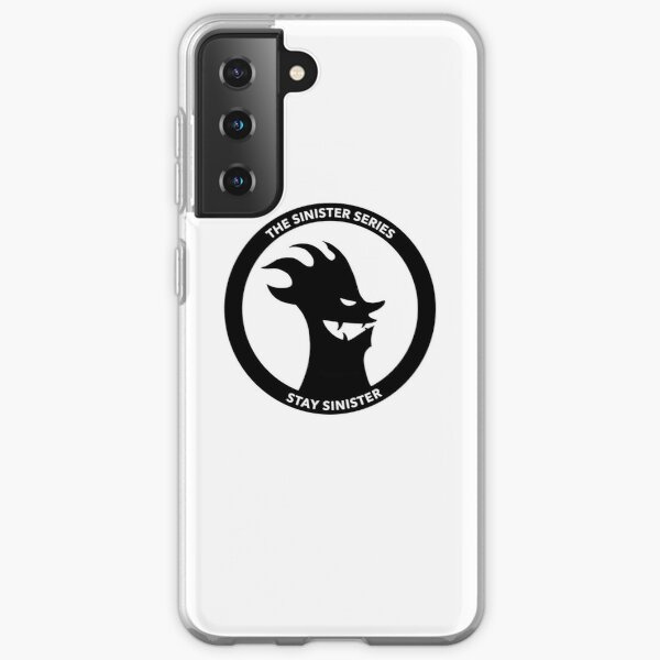 Official Logo for The Sinister Series  Samsung Galaxy Soft Case