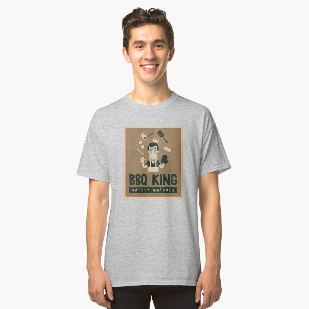 BBQ king Classic T-Shirt Front