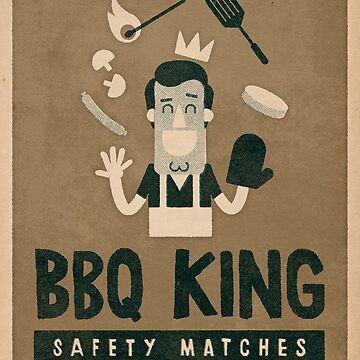 BBQ king by alexlaunay