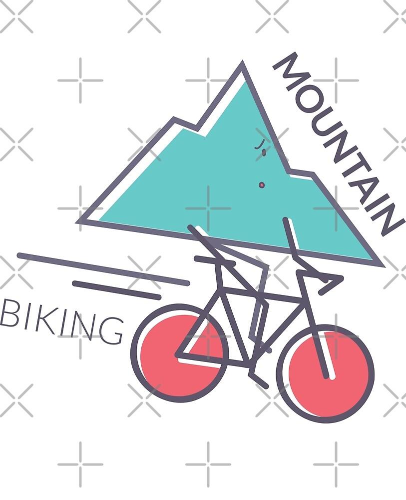 Mountain Biking by Digital50
