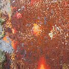 Rusty metal surface, background by Adam Nixon