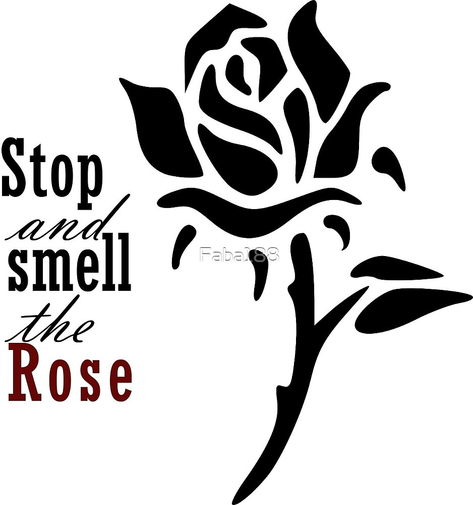 Stop and smell the rose by Faba188