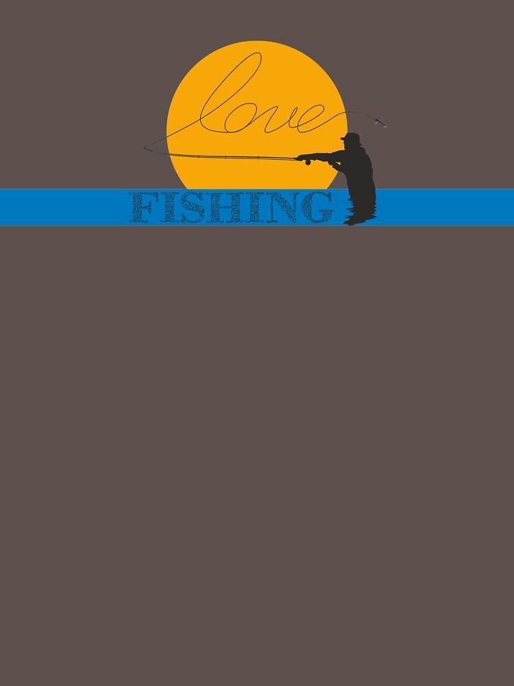 Love fishing by alamountart
