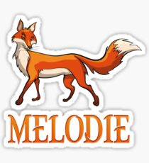 Melodie Fox Sticker
