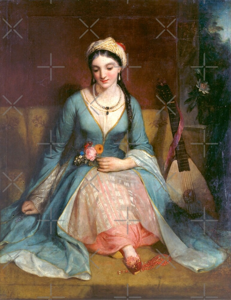 Pickersgill Henry W. - A Young Greek Woman by Lefteris Betsis