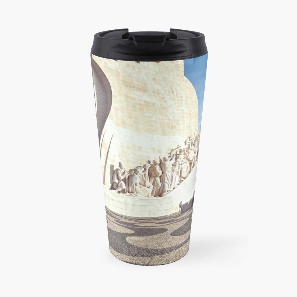Monument to the Discoveries Travel Mug