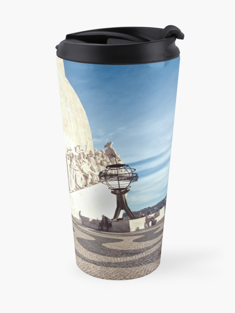 Alternate view of Monument to the Discoveries Travel Mug
