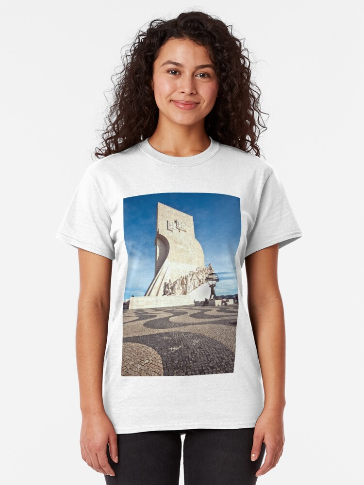 Alternate view of Monument to the Discoveries Classic T-Shirt