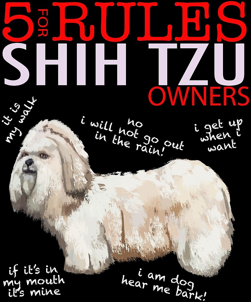 5 Rules for Shih Tzu Owners by MichaelRellov