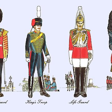 The Queen's Guards by lewisroland