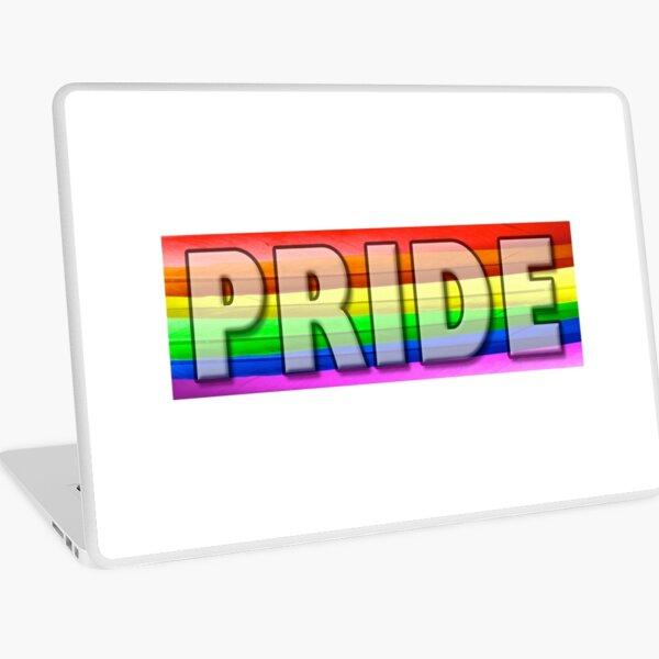 Rainbow Feather Pride Laptop Skin