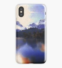 One day at the lake iPhone Case