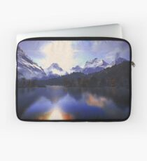 One day at the lake Laptop Sleeve