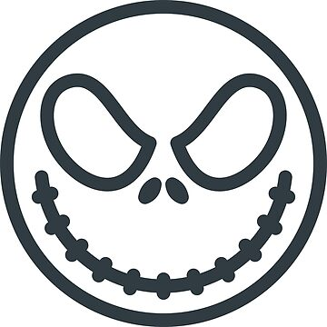 Smiling Scary Skeleton Halloween Skull by rdebeer