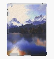 One day at the lake iPad Case/Skin
