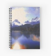One day at the lake Spiral Notebook