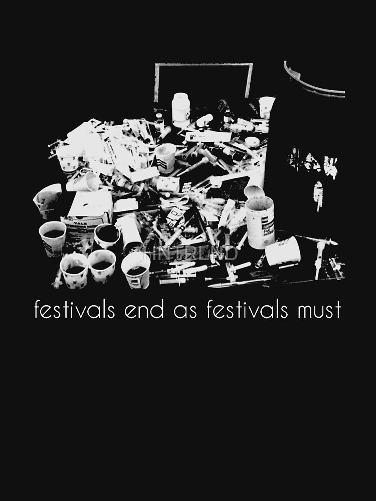 festivals end as festivals must by HNTRLND