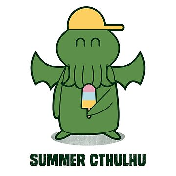 Summer Chtulhu by alexlaunay