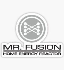 Mr Fusion Home Energy Reactor Sticker
