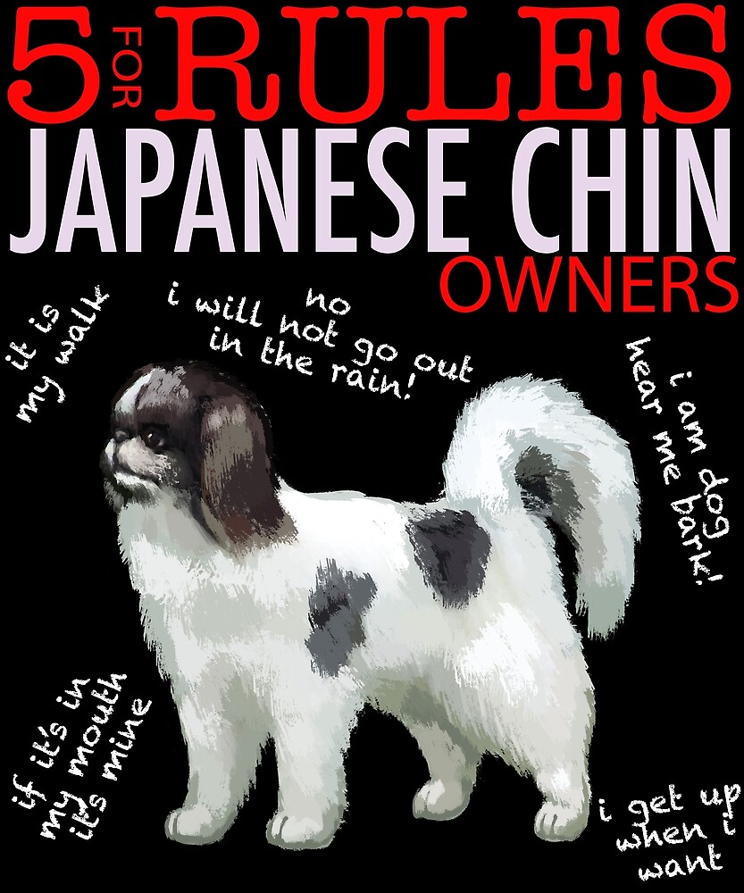 5 Rules for Japanese Chin Owners by MichaelRellov